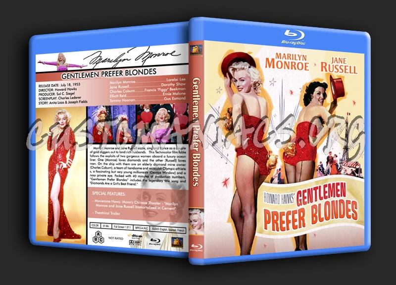 Gentlemen Prefer Blondes blu-ray cover