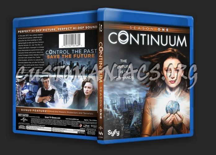 Continuum Season 1 blu-ray cover