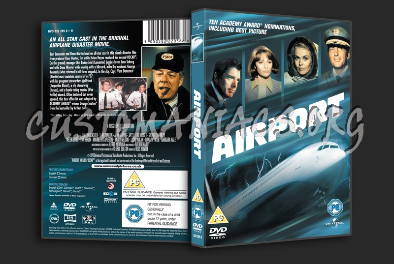 Airport dvd cover