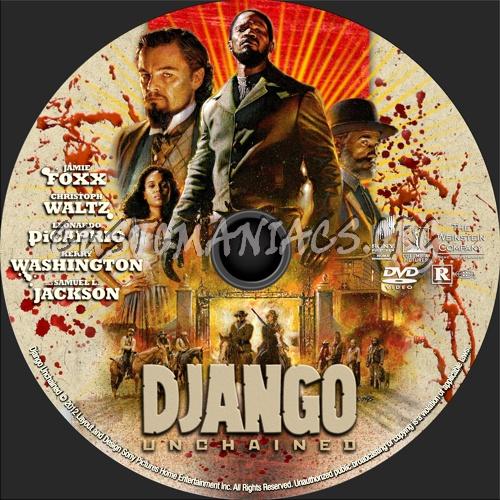 Django Unchained (2012) dvd label - DVD Covers & Labels by ...  Django Unchaine...