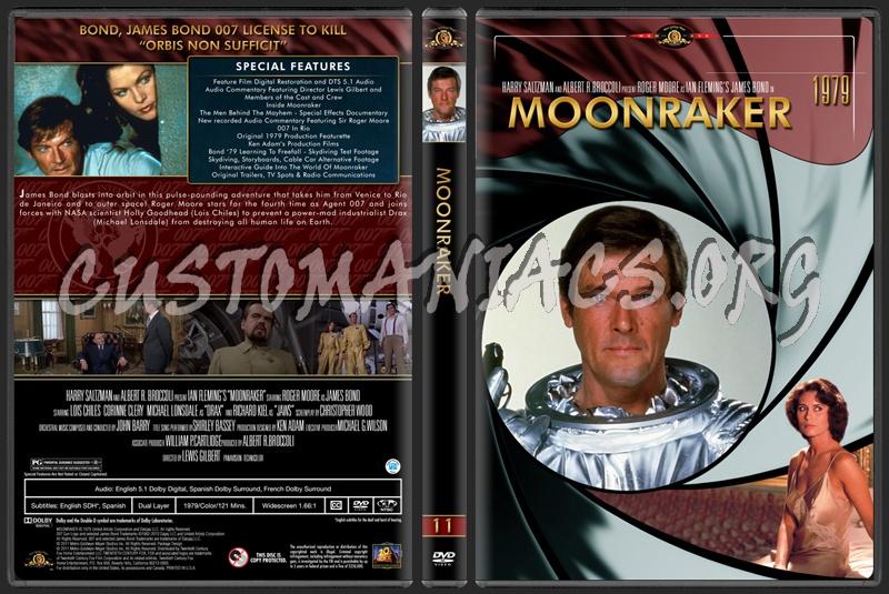 James Bond (007) Collection Monraker (11) dvd cover