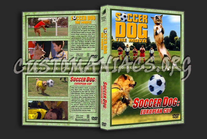 Soccer Dog The Movie Soccer Dog European Cup Dvd Cover Dvd