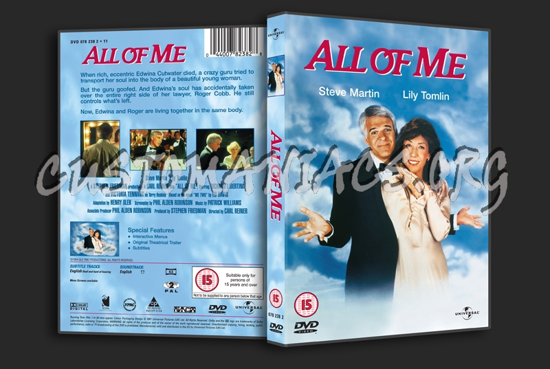All of Me dvd cover