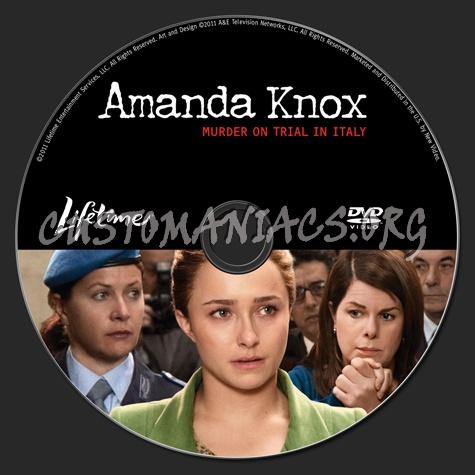 Amanda Knox Murder on Trial in Italy dvd label
