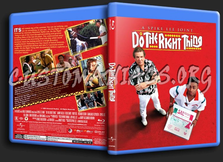 Do the Right Thing blu-ray cover
