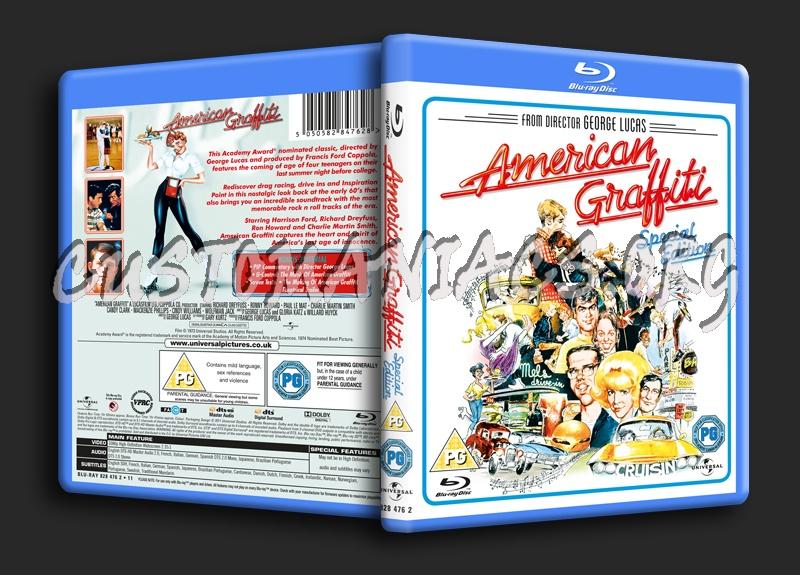 American Graffiti blu-ray cover
