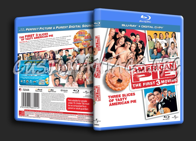 American Pie Trilogy blu-ray cover