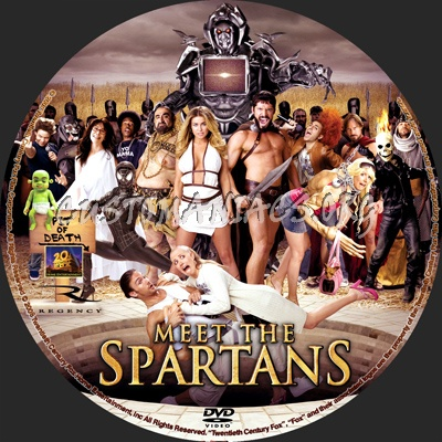 meet the spartans dvd release