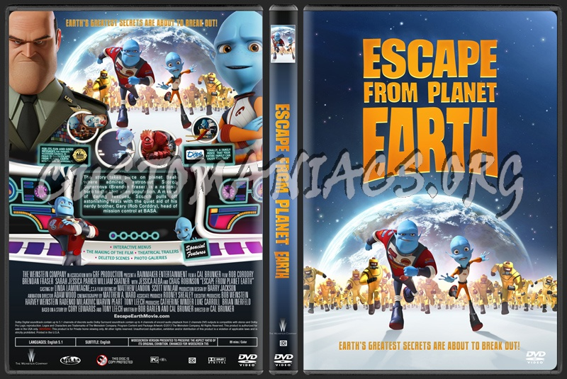 Escape From Planet Earth DVD Cover (page 3) - Pics about space