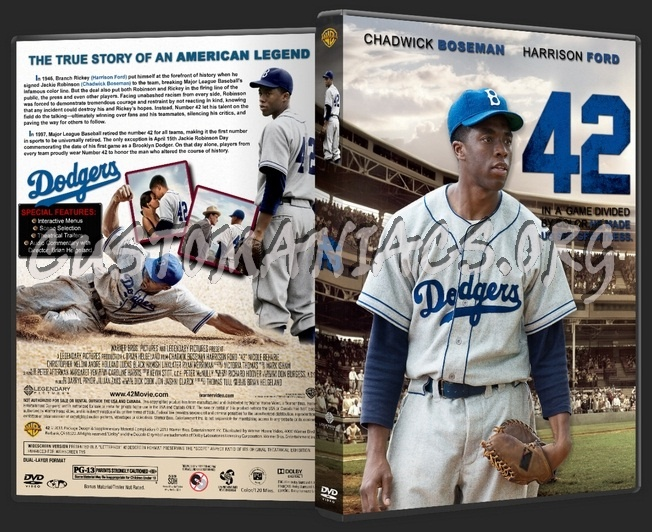 42 (2013) dvd cover