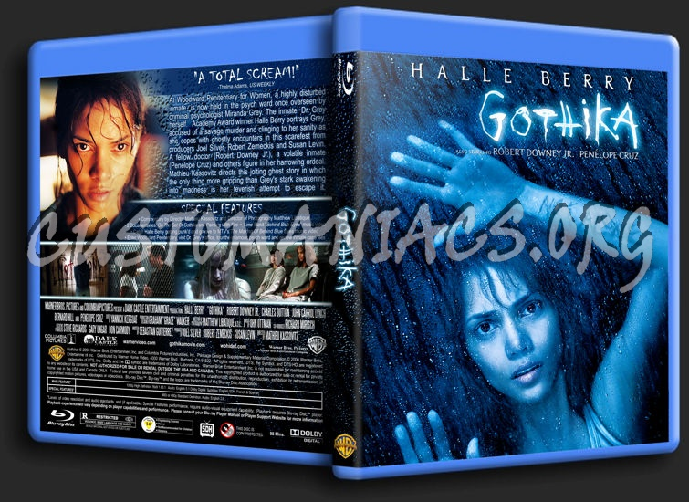 Gothika blu-ray cover