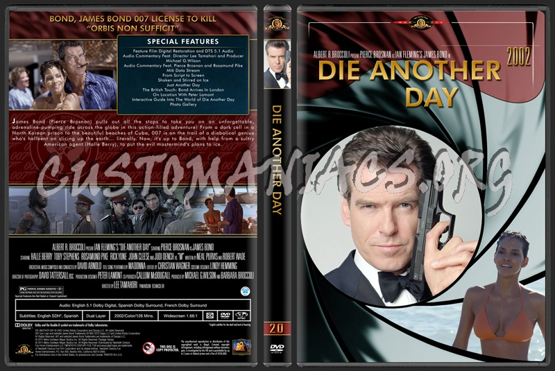 James Bond (007) Collection Die Another Day (20) dvd cover