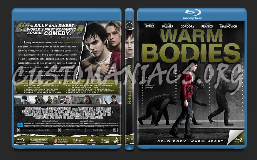 Warm Bodies blu-ray cover