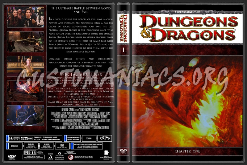 Dungeons & Dragons dvd cover