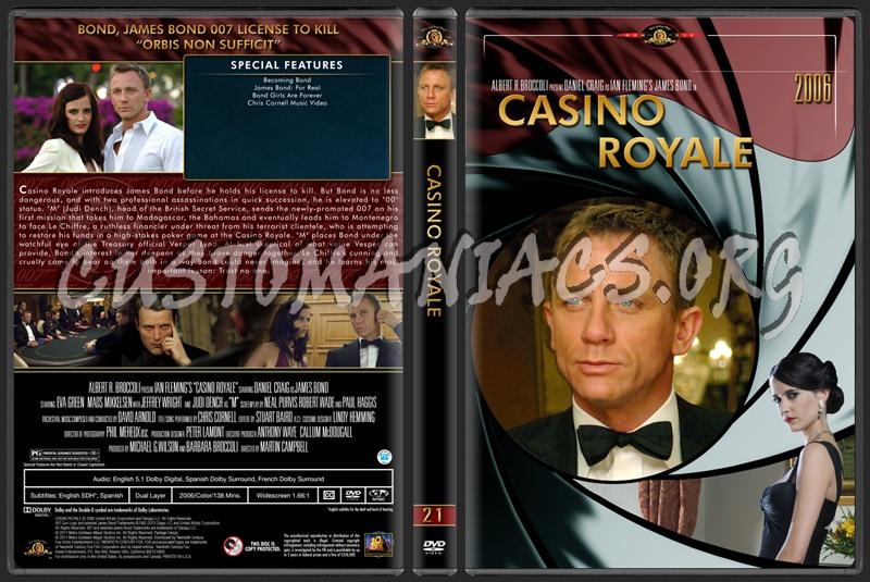James Bond (007) Collection Casino Royale (21) dvd cover