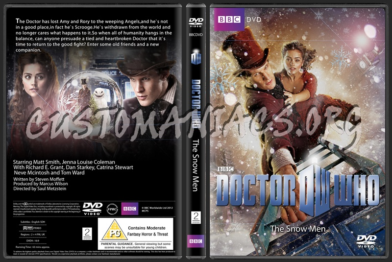Doctor Who Christmas Special 2012.Doctor Who 2012 Christmas Special Dvd Cover Dvd Covers