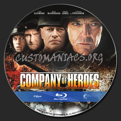 Company Of Heroes Blu Ray Label Dvd Covers Labels By Customaniacs Id 191315 Free Download Highres Blu Ray Label