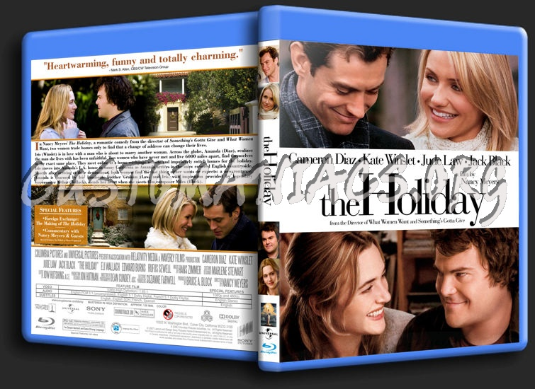 The Holiday blu-ray cover