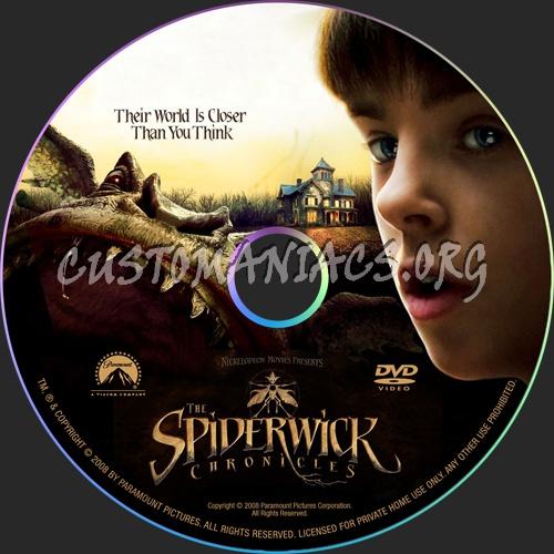 The Spiderwick Chronicles dvd label