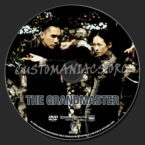 The Grandmaster dvd label - DVD Covers & Labels by ...
