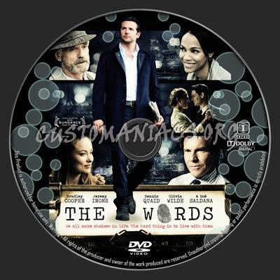 The Words dvd label