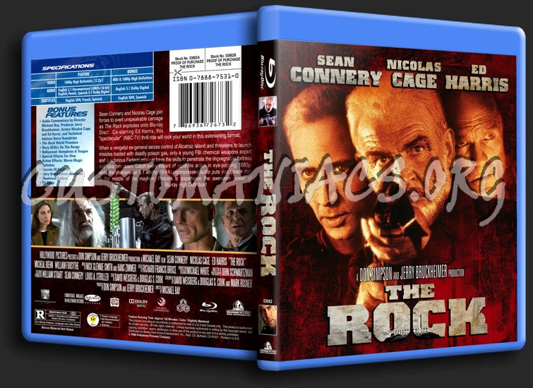 The Rock blu-ray cover