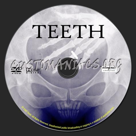Teeth dvd label