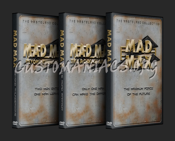 Mad Max Trilogy dvd cover