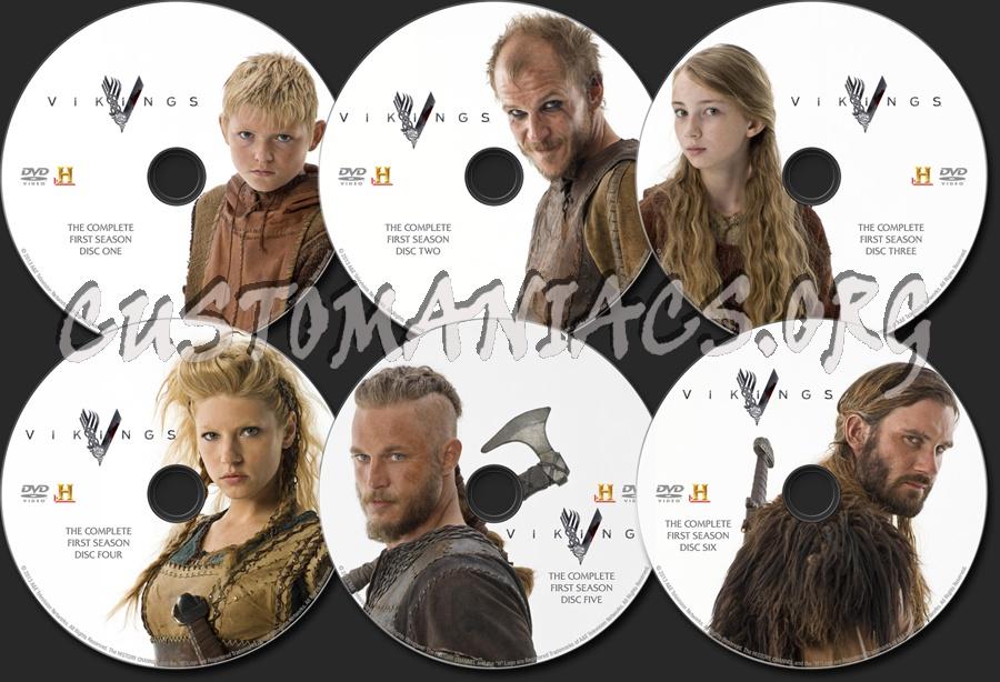 Vikings - Season 1 dvd label
