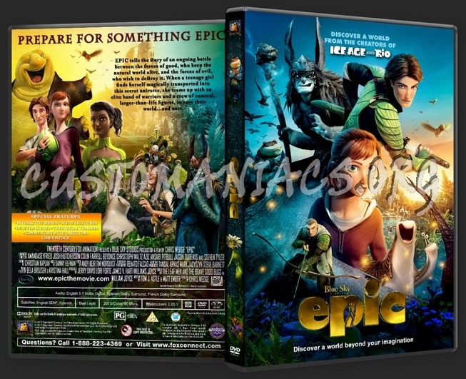 Epic dvd cover