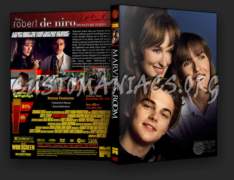 Marvin\'s Room dvd cover