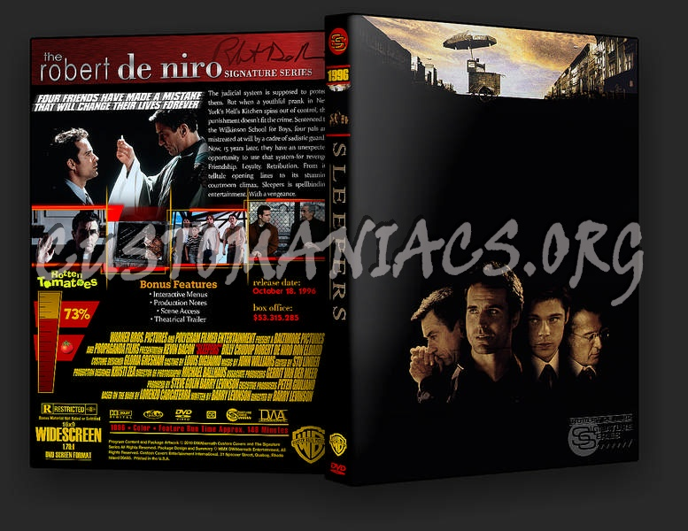 Sleepers dvd cover