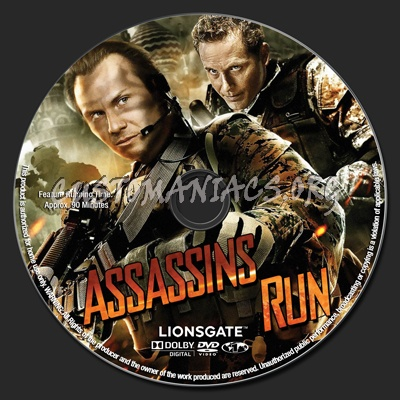 Assassins Run dvd label - DVD Covers & Labels by ...
