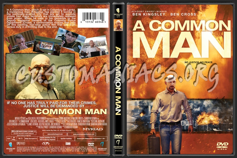 DVD Covers & Labels by Customaniacs - View Single Post - A ... A Common Man Dvd