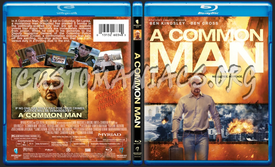 A Common Man blu-ray cover - DVD Covers & Labels by ... A Common Man Dvd