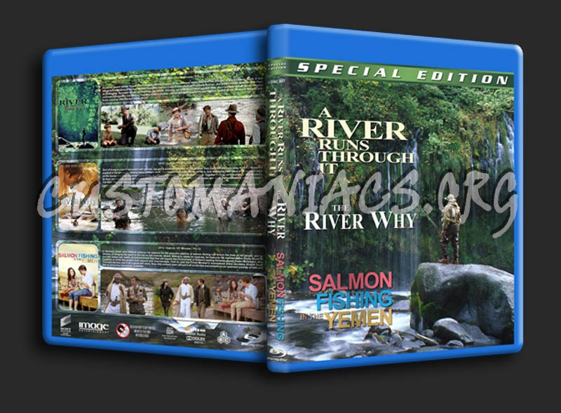 A River Runs Through It / The River Why / Salmon Fishing in the Yemen Triple blu-ray cover