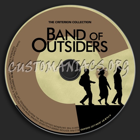 174 - Band of Outsiders dvd label