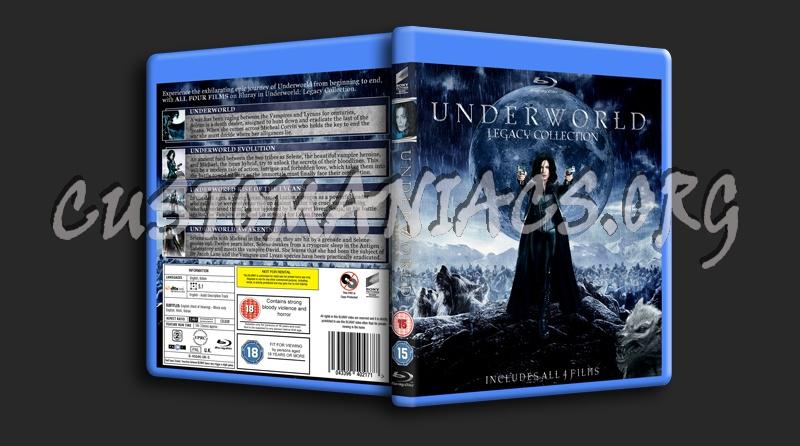 Underworld Legacy blu-ray cover