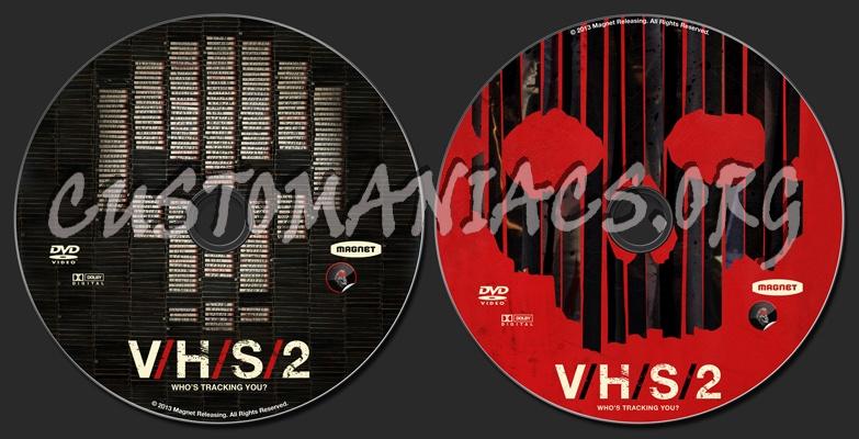 V/H/S/2 (aka VHS 2) dvd label