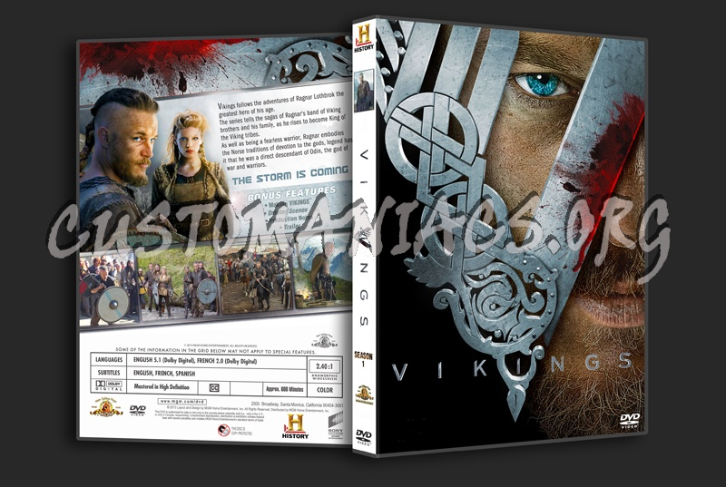 Vikings s1 dvd cover