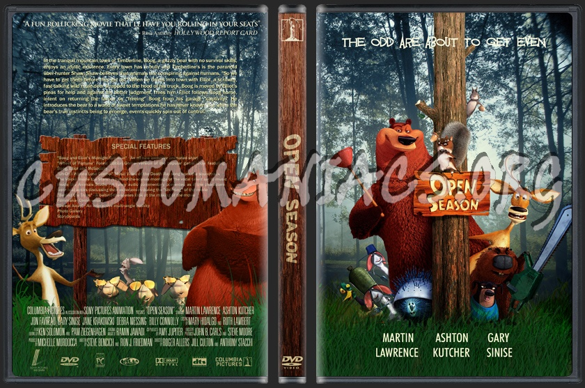 Open Season dvd cover