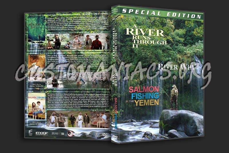 A River Runs Through It / The River Why / Salmon Fishing in the Yemen Triple dvd cover