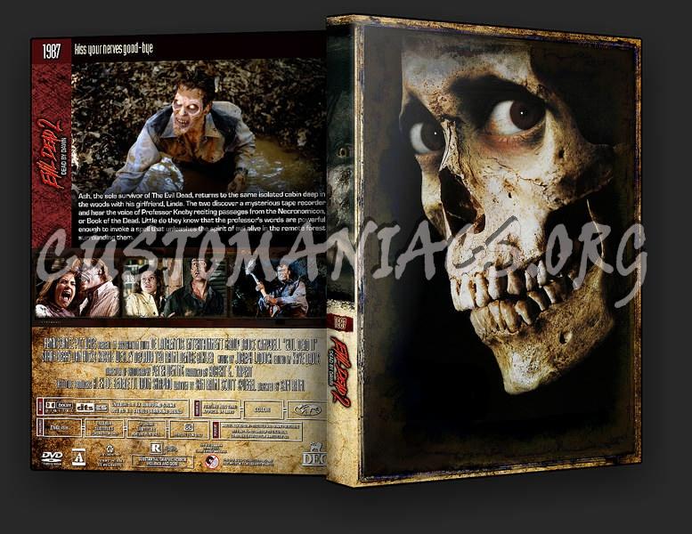 Evil Dead 2: Dead By Dawn dvd cover