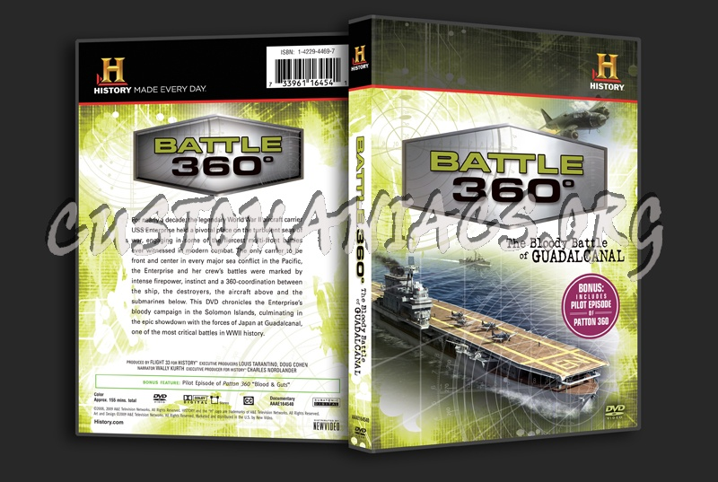 Battle 360° The Bloody Battle of Guadalcanal dvd cover