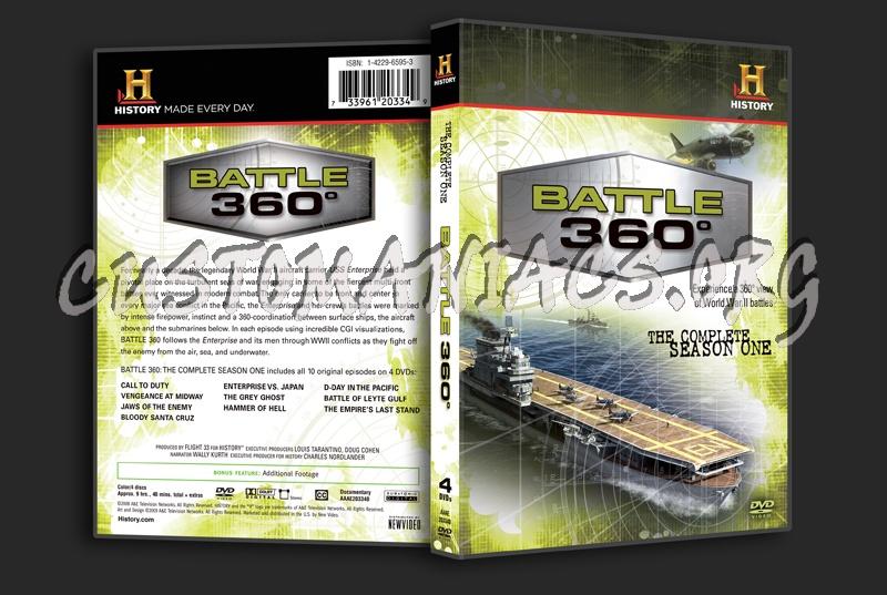 Battle 360° The Complete Season 1 dvd cover