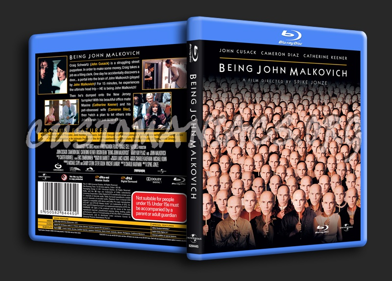 Being John Malkovich blu-ray cover
