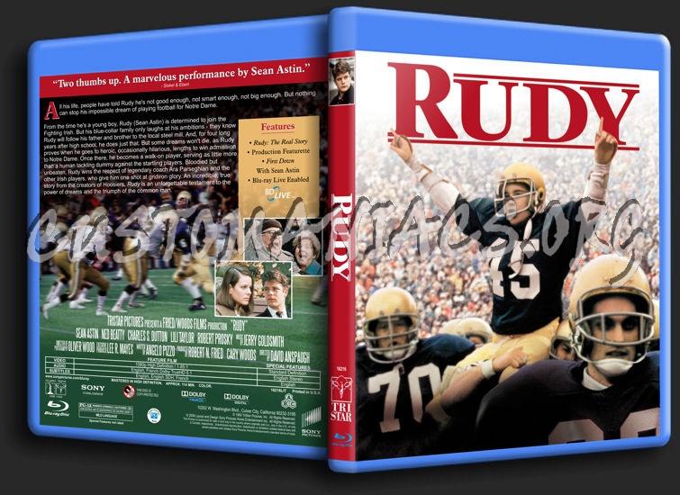 Rudy blu-ray cover