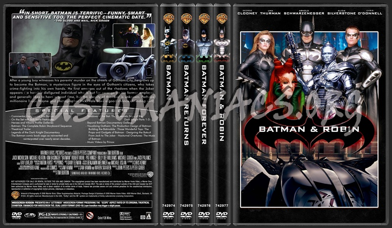 Batman Collection dvd cover