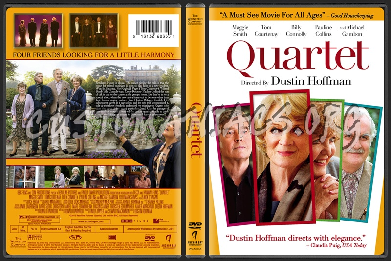 Quartet Dvd Cover images