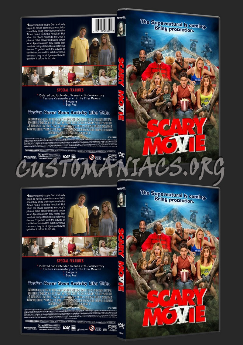Scary Movie 5 Dvd Cover Dvd Covers Labels By Customaniacs Id 191898 Free Download Highres Dvd Cover